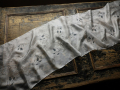 hodvábne šály 130x35 cm